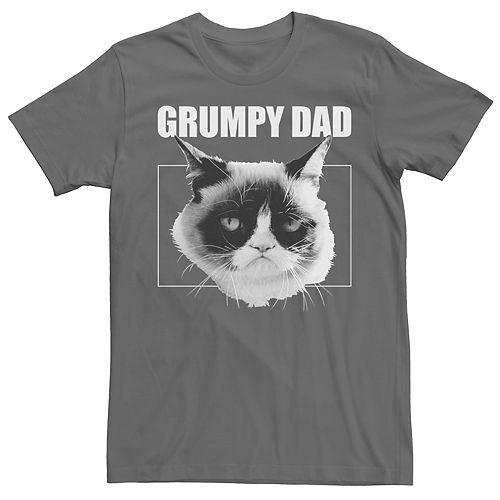 Men's Grumpy Cat Grumpy Dad Tee