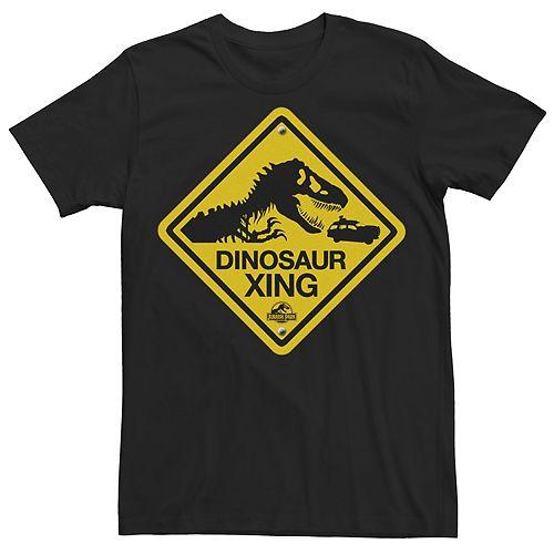 Men's Jurassic Park Dino Crossing Tee
