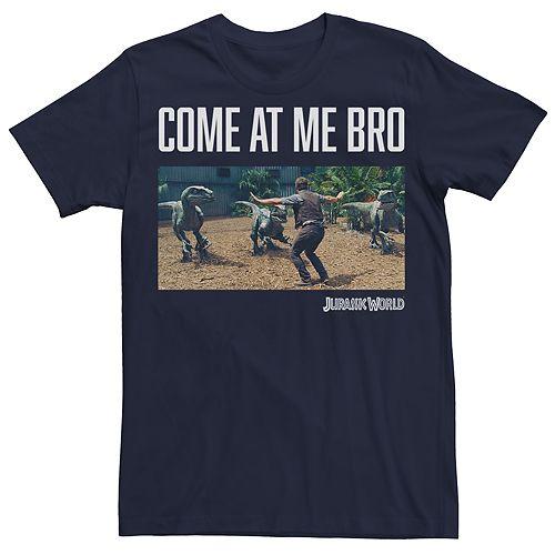 Men's Jurassic World Come At Me Bro Tee