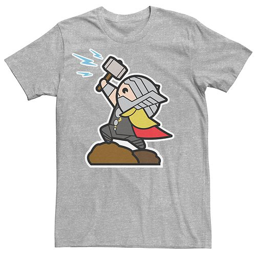 Men's Marvel Thor Kawaii Tee