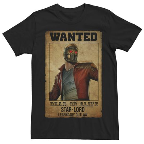 Men's Guardians of the Galaxy Legendary Outlaw Tee