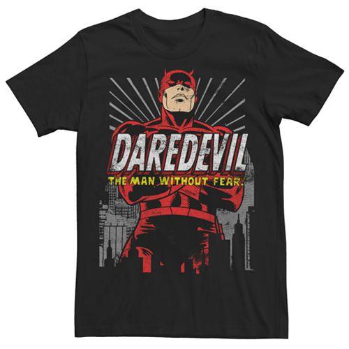 Men's Marvel Comics Daredevil Retro Graphic Tee