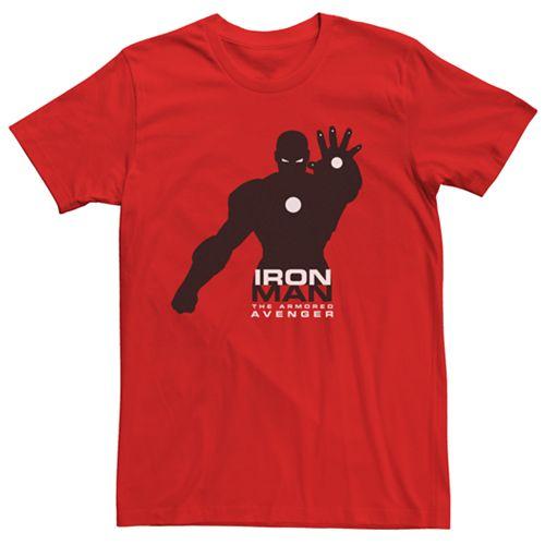 Men's Marvel Avengers Iron Man Silo Graphic Tee