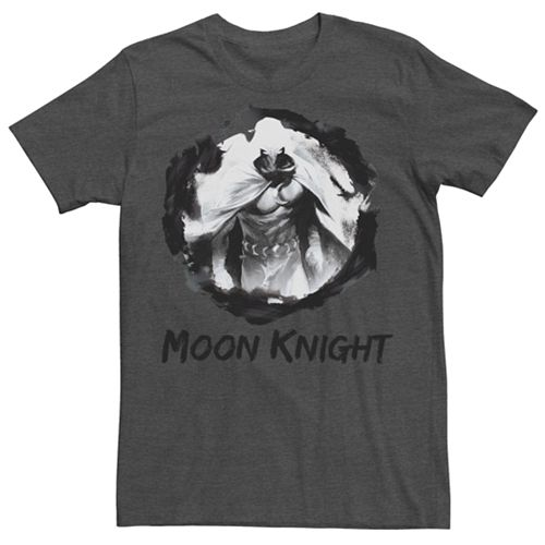 Men's Marvel Knights Presents Grunge Moon Knight Graphic Tee