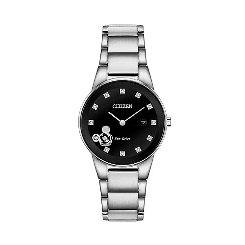 Disney's Mickey Mouse Women's Diamond Accent Watch by Citizen