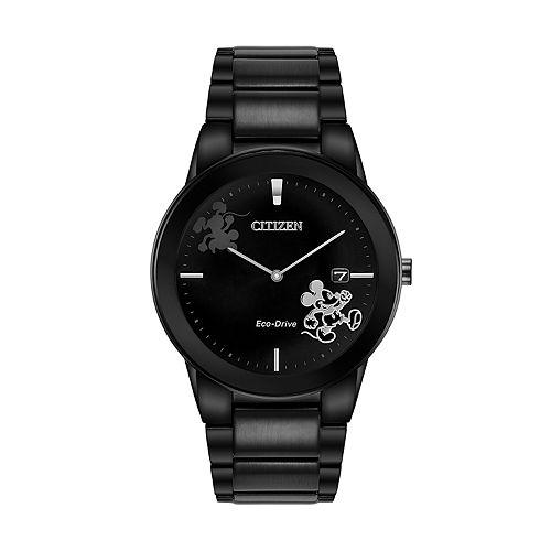 Disney's Mickey Mouse Men's Black & White Watch by Citizen