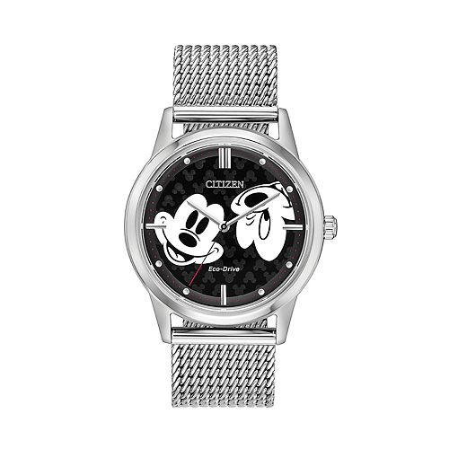 Disney's Mickey Mouse Stainless Steel Mesh Watch by Citizen