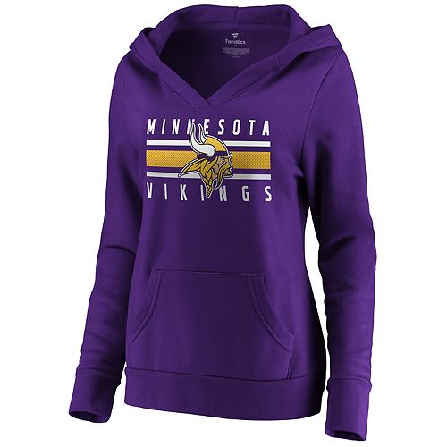 Women's Minnesota Vikings Emblem Hoodie