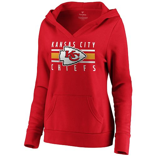 Women's Kansas City Chiefs Emblem Hoodie