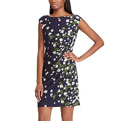 187d45d0c29 Women s Chaps Floral Sheath Dress