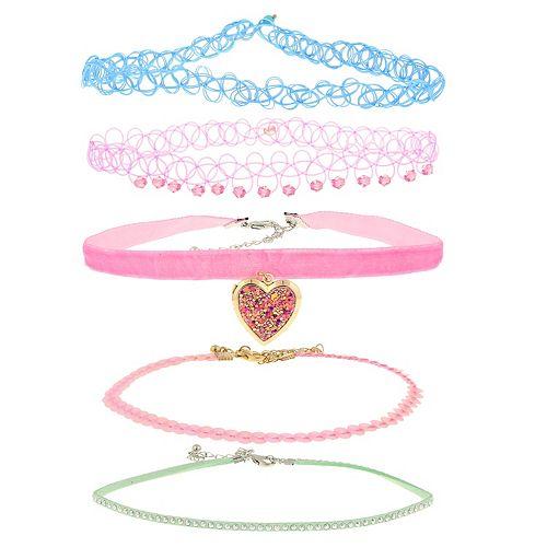 Elli by Capelli 5-Piece Choker Necklace Set