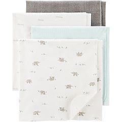 Baby Carter's 4-pack 30' x 40' Receiving Blankets