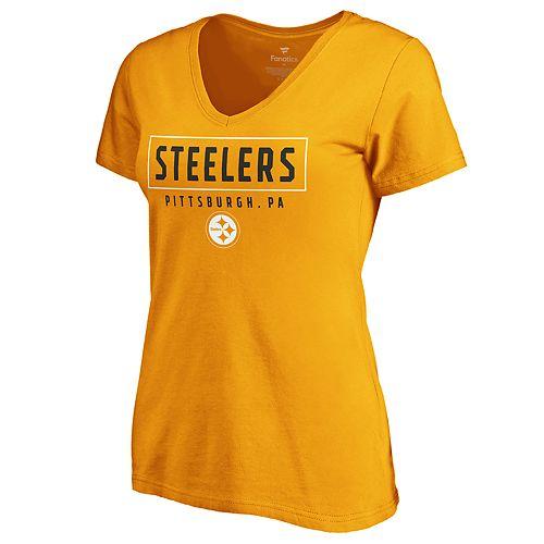 Women's Pittsburgh Steelers Iconic Tee