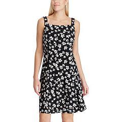 9c0cff4fcd3 Women s Chaps Floral Fit   Flare Tank Dress