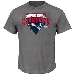 Big   Tall New England Patriots Super Bowl LIII Champions Squib Kick Tee 9bd7ae3de9d3