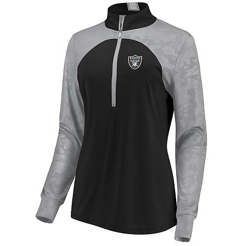 Women's Oakland Raiders Emblem Zip-Up