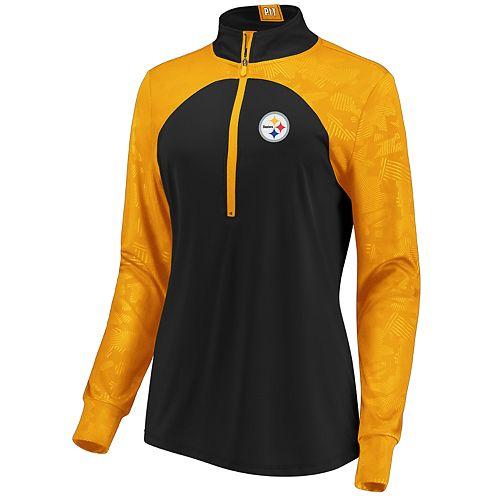 Women's Pittsburgh Steelers Emblem Zip-Up