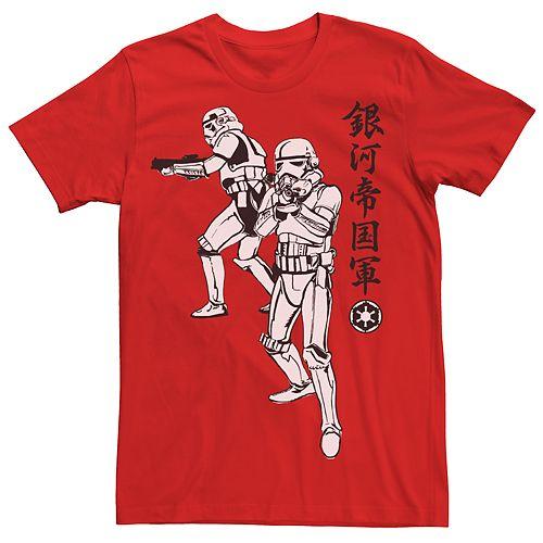 Men's Star Wars Stormtrooper Kanji Tee