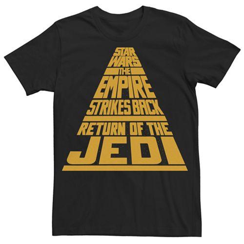 Men's Star Wars Title Tee