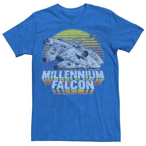 Men's Star Wars Vintage Millennium Falcon Tee
