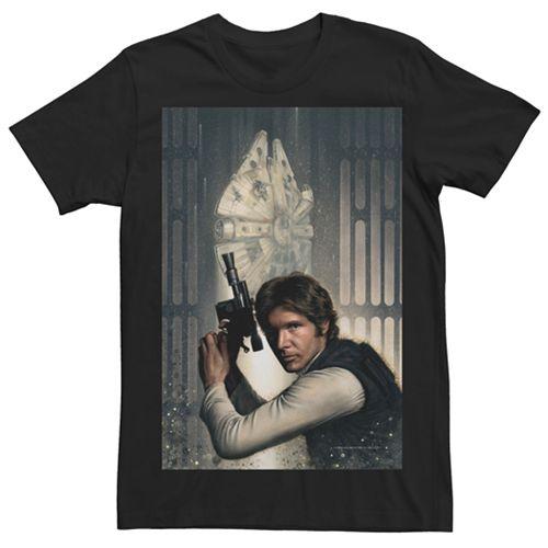 Men's Star Wars Han Solo Character Tee