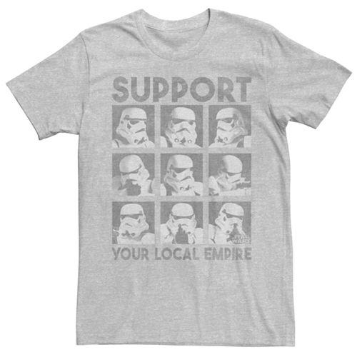 Men's Star Wars A New Hope Storm Trooper Head Tee