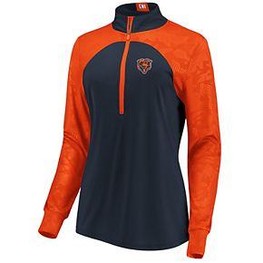 Women's Chicago Bears Emblem Zip-Up