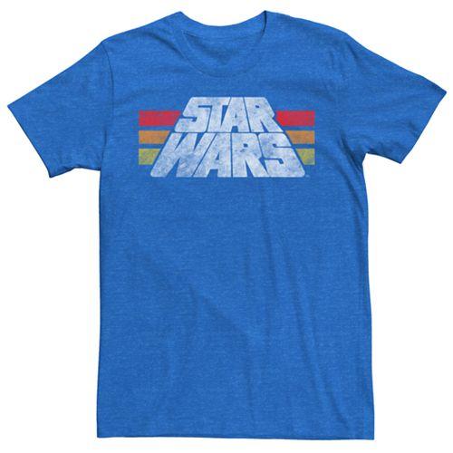 Men's Star Wars Vintage Logo Tee