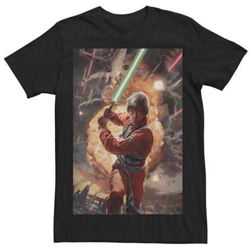 Men's Star Wars Luke Skywalker Character Tee