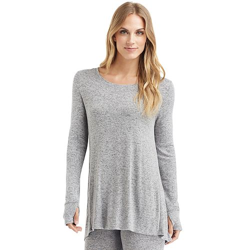 Women's Cuddl Duds Soft Knit Long Sleeve Tunic