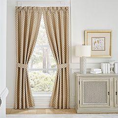 Croscill 2-pack Philomena Window Curtains