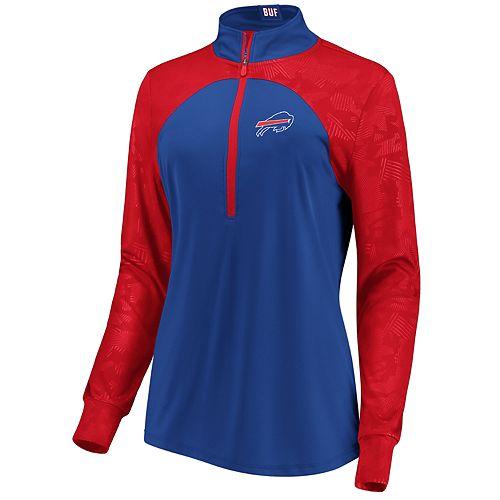 Women's Buffalo Bills Emblem Zip-Up