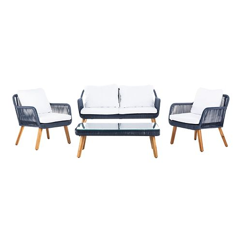 Safavieh Aldric 4 Piece Outdoor Set