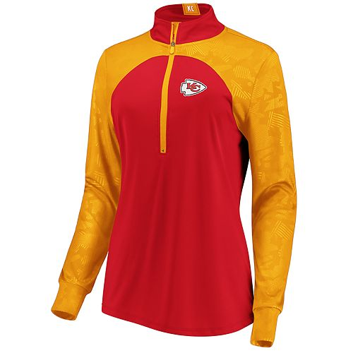 Women's Kansas City Chiefs Emblem Zip-Up