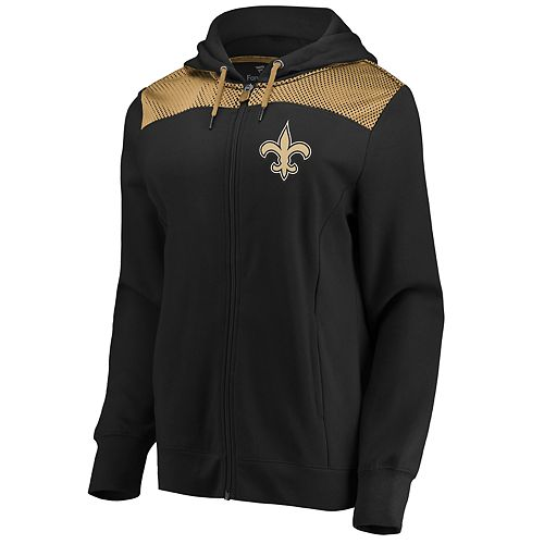 Women's New Orleans Saints Athena Hooded Full-zip Jacket
