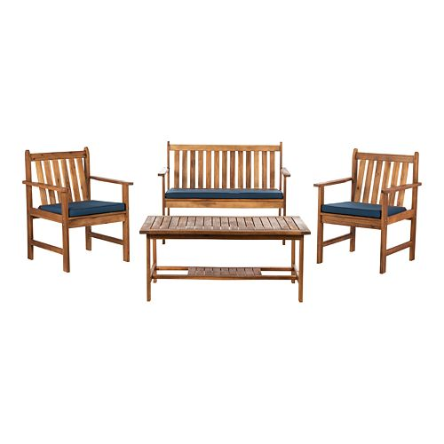 Safavieh Carson 4 Piece Outdoor Set