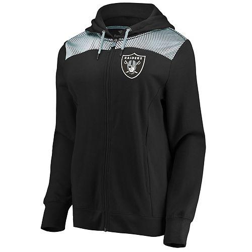 Women's Oakland Raiders Athena Hooded Full-zip Jacket