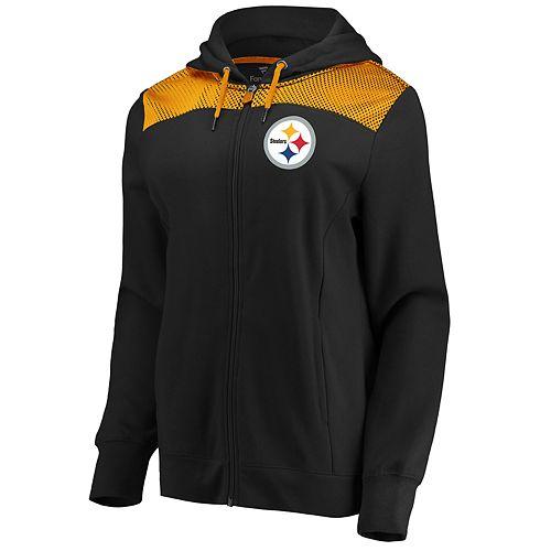 Women's Pittsburgh Steelers Athena Hooded Full-zip Jacket