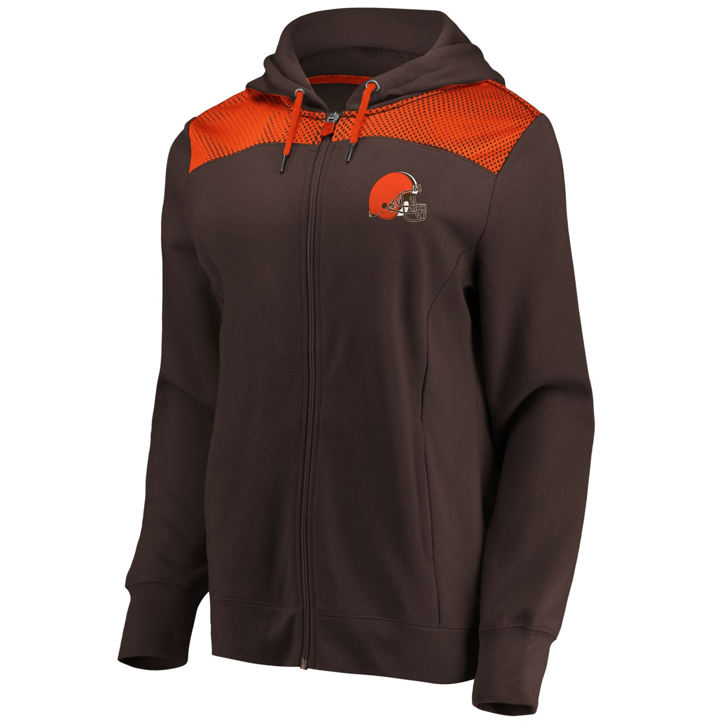 25e4606f Women's Cleveland Browns Athena Hooded Full-zip Jacket