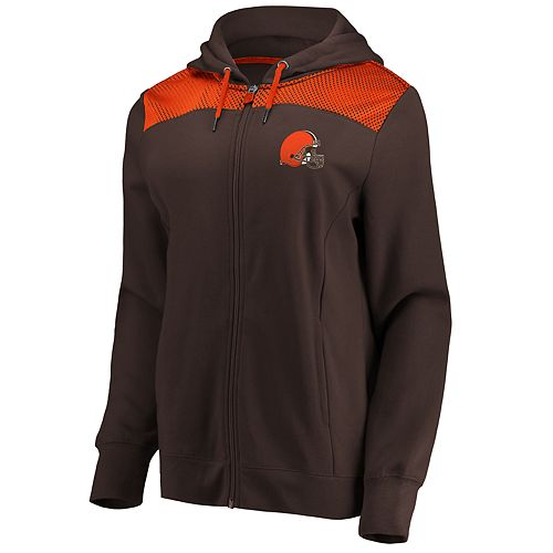 Women's Cleveland Browns Athena Hooded Full-zip Jacket
