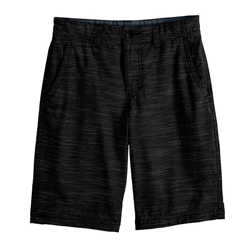 Boys 8-20 Urban Pipeline™ Flat Front Textured Shorts in Reg & Husky