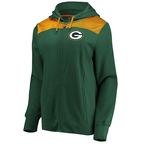 Women's Green Bay Packers Athena Hooded Full-zip Jacket