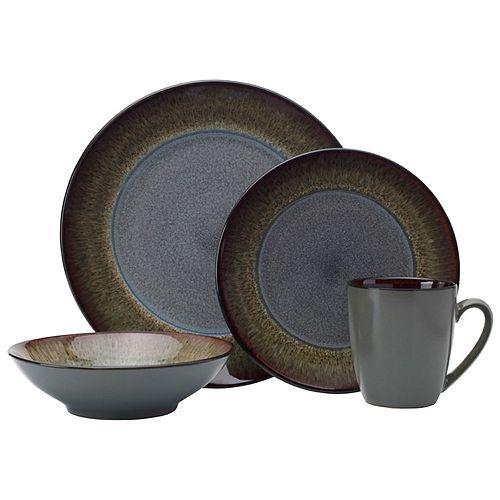 Pfaltzgraff Monroe Gray 16-pc. Dinnerware Set