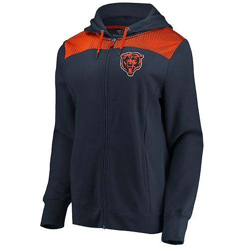 Women's Chicago Bears Athena Hooded Full-zip Jacket