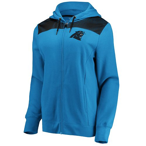 Women's Carolina Panthers Athena Hooded Full-zip Jacket