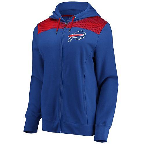 Women's Buffalo Bills Athena Hooded Full-zip Jacket