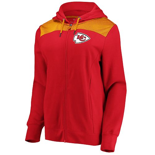 Women's Kansas City Chiefs Athena Hooded Full-zip Jacket