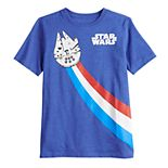 Boys 8-20 Family Fun Star Wars Millennium Falcon Graphic Tee