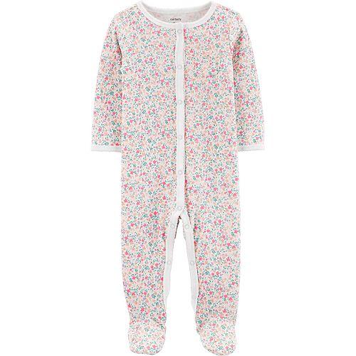 Baby Girl Carter's Floral Sleep & Play