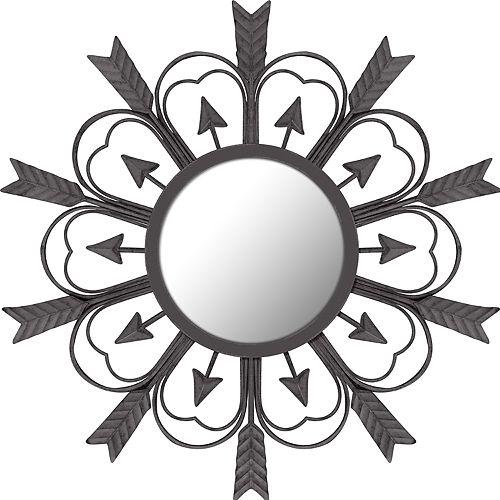 Stonebriar Collection Metal Arrow Mirror